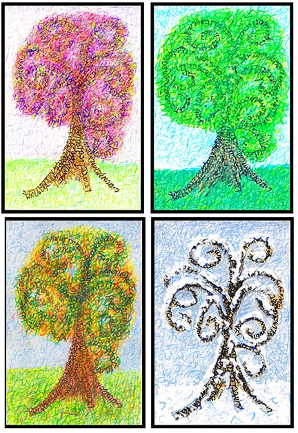 And You Shall Love...Seasons of Trees of Life
