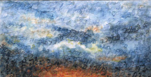 Genesis Aleph Sunset (Close up of sky)